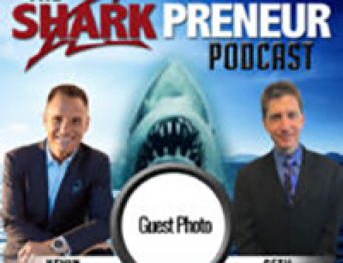 Adam featured on SharkPreneur Podcast with Seth Greene & Kevin Harrington!